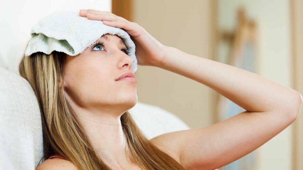 درمان با بخار ؛ چگونگی درمان سرد درد و تنگی نفس با بخار گیاهی