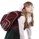کیف مدرسه و بیماری های ستون فقرات در کودکان / انتخاب کیف مناسب