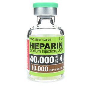 هپارین / موارد مصرف ، عوارض و تداخلات دارویی هپارین