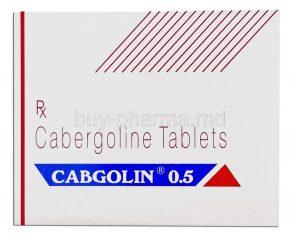 کابرگولین /نحوه مصرف قرص کابرگولین، عوارض و تداخلات دارویی
