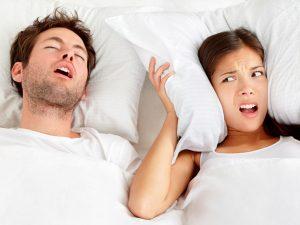 خروپف /درمان های خانگی طبیعی برای خروپف در شب