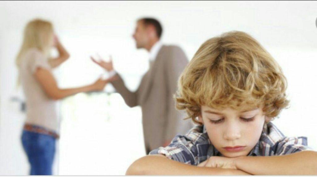 آثار مخرب طلاق بر فرزندان