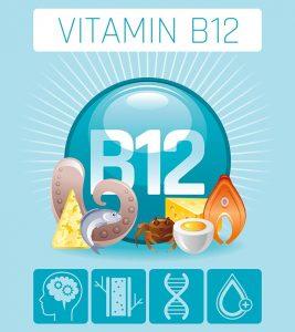 ویتامین B12 .