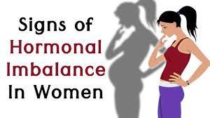 عدم تعادل هورمونی در زنان.