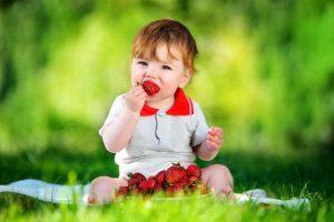 خواص توت فرنگی برای کودکان