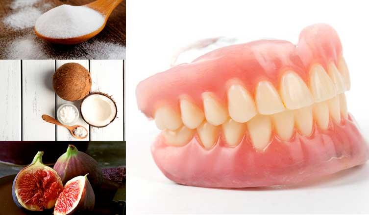 درمان درد دندان مصنوعی.