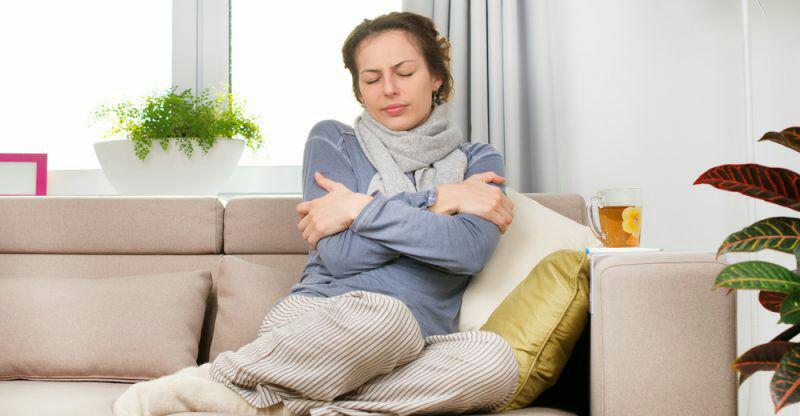 افزایش دمای بدن