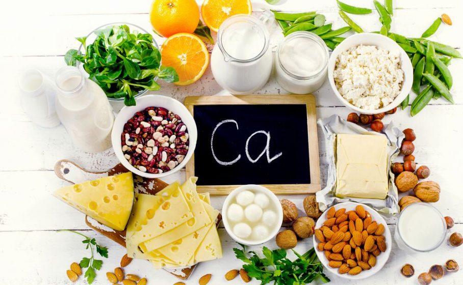 غذای غنی از کلسیم