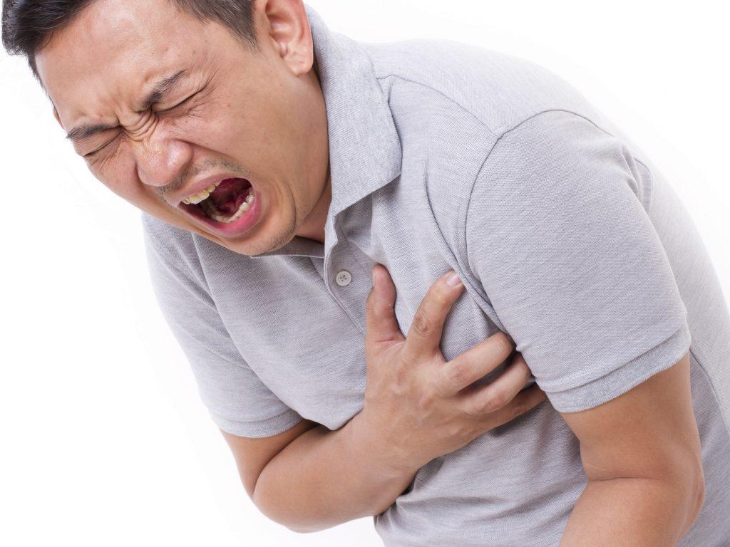 حمله قلبی.