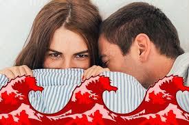 رابطه جنسی در طول قاعدگی
